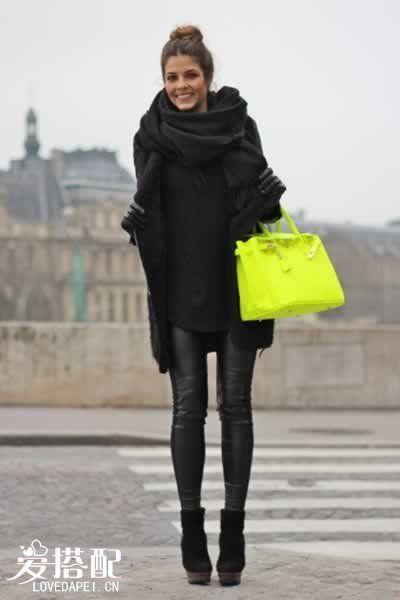 冬季时尚穿衣搭配的6大法则