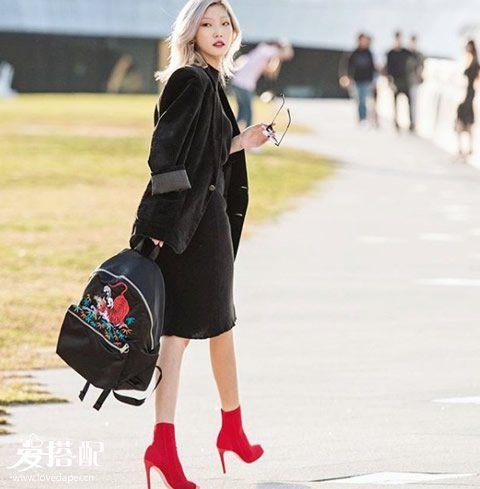 2017秋冬必备鞋子是连袜靴,显瘦显腿长就靠它了!