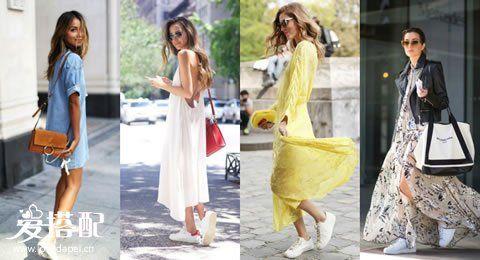 球鞋+裙子